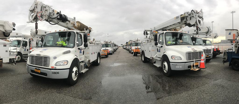 Haugland Energy Crews Begin Work in Florida to Restore Power