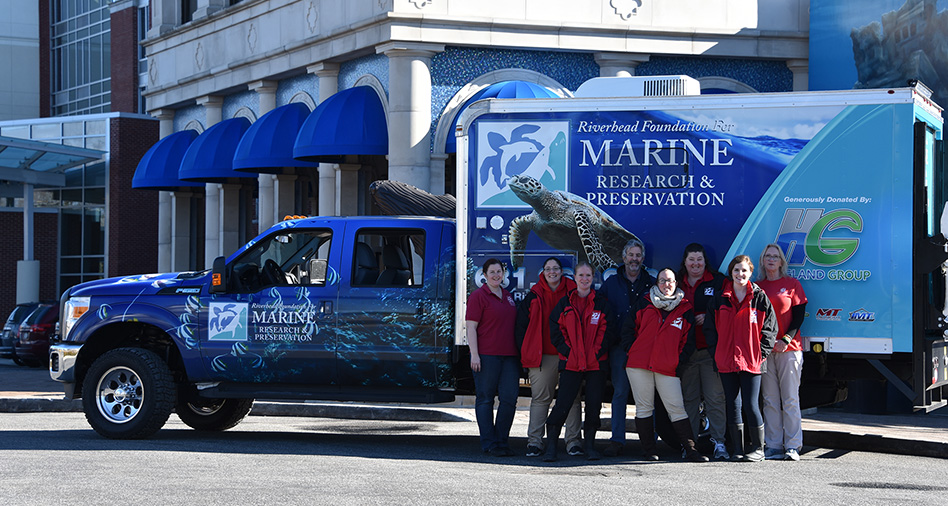 The Haugland Family Donates a Custom Marine Rescue Truck to the Riverhead Foundation