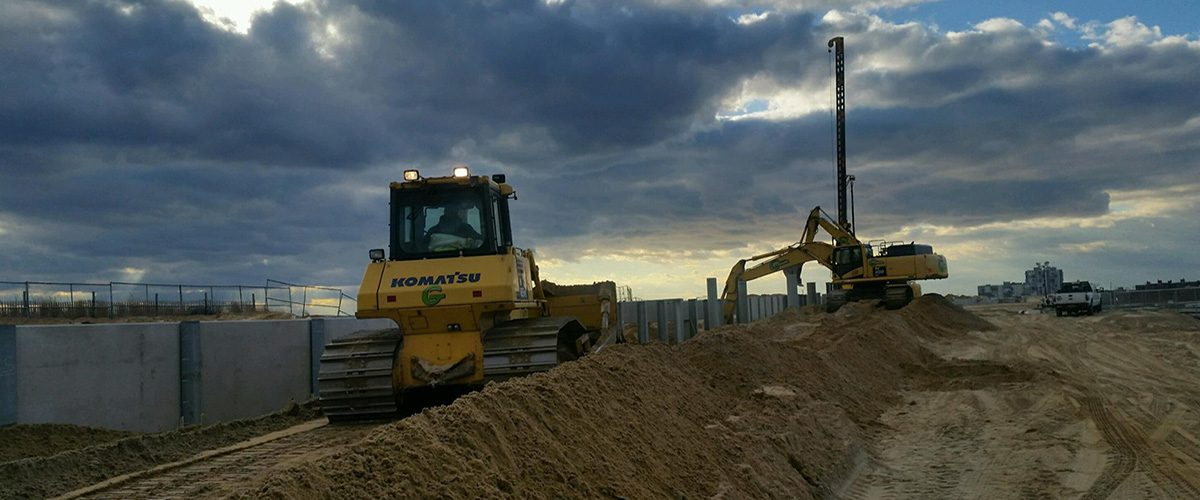 Earthworks, Drainage and Foundations