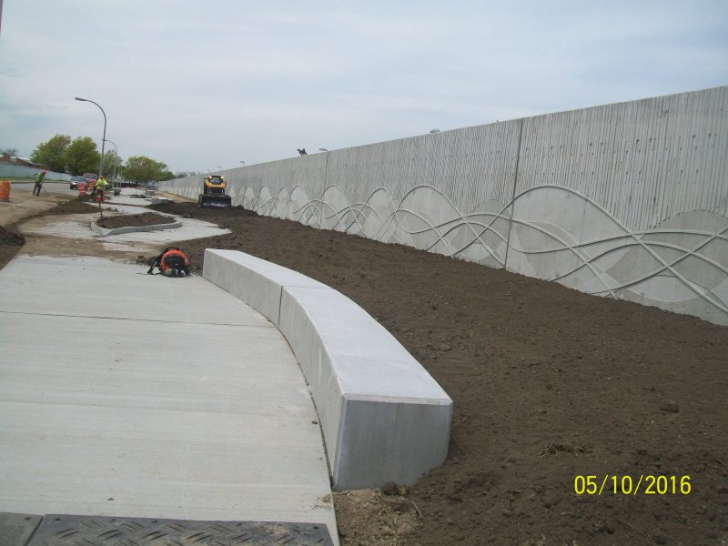 NCDPW Bay Park Sewage Treatment Plant Perimeter Flood Protection Berm & Wall