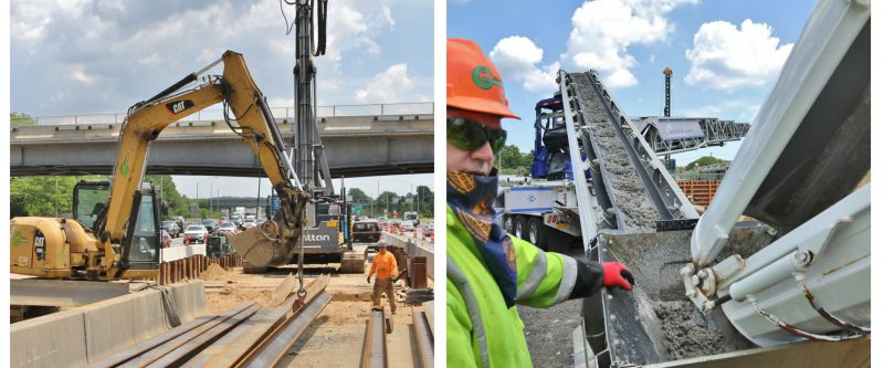 Walt Whitman Road over I-495 Bridge Replacement and Widening