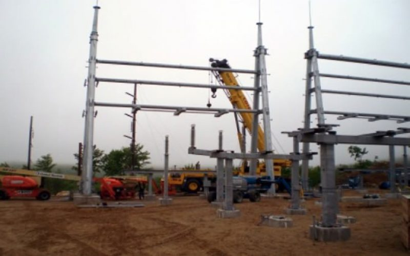 CMP Ludden Lane Substation Construction