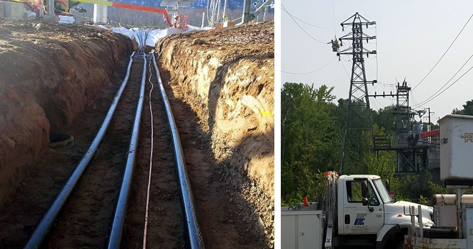Overhead vs. Underground Power Lines