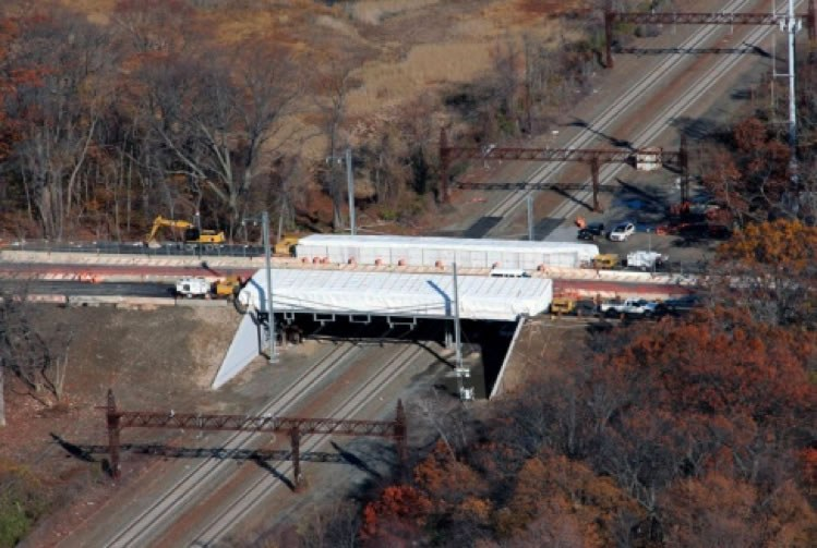 Replacement of Shore Road Circle Bridge Over Amtrak