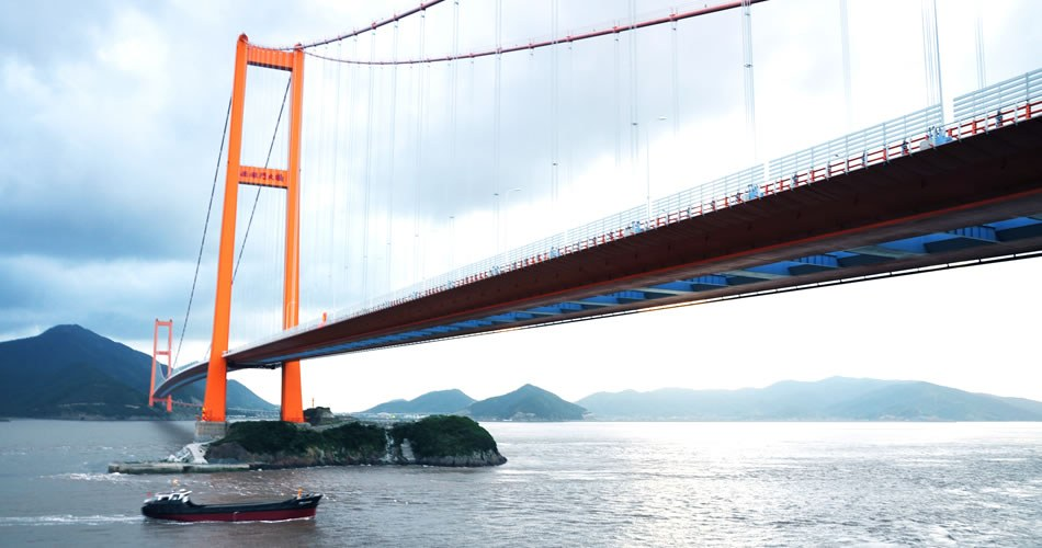 Seven Largest Suspension Bridges in the World